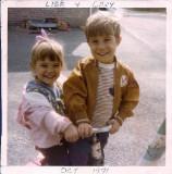 Lisa & Gary 1971
