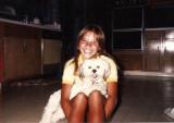 Keller's dog Samantha