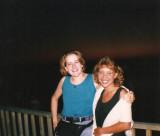 Nancy my roommate & me in Ashland, WI
