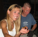 me & Nikki and cigars