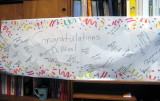 banner at work when I got back