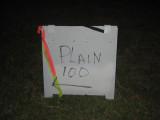 a plain sign