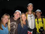 Team Jerker:  me, Barefoot Ted, Leah, Scott & Glenn