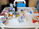 medical aid station