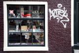 Window and graffiti