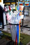 Tulip shaped umbrellas