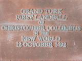 First Landfall of Columbus Marker