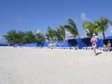 Beach near pier in from of Margaritaville