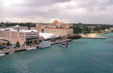 British Colonial Hilton from the Port