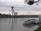 UFO Bridge over the Danube River