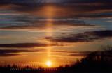 Sun Pillar at Beauport (9 nov. 2003)