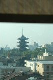 Kyoto from the train