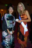 Miss Poland & a Japanese beauty contestant