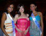 Miss Brazil, Bolivia & a Japanese Lady