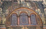 Mosaic of Grand Ummayad Mosque Entrance