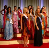 An International Group of Beauty Contestants