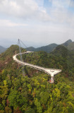 Another view for the hanging bridge ( from the cable car)