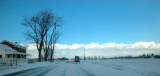 buggy on winter road...