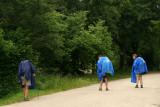 Wet Pilgrims on route