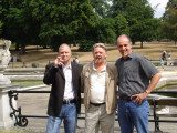 Liam, Dave and Demetri at Hyde Park, London.jpg