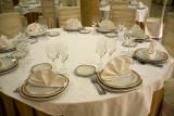 Salón de bodas (Detalle de mesa)