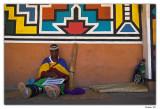 Ndebele Artist