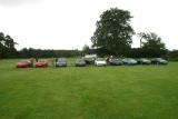 A Car Show at Leeds Castle