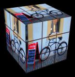 Mr. Rubik's bike
