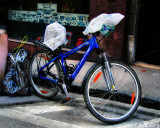 If you want to throw away your old bike...get at least a bigger garbage bag!