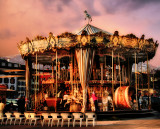 I might dream on a carousel...