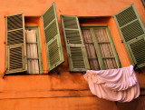 Shutters are like eyelids of smiling houses