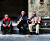 Grumpy old buskers