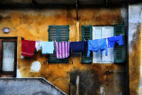 Palette of laundry.