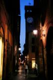 Through a narrow street without name