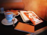Literary café ....