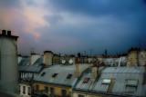 The reproaching  sky of Paris