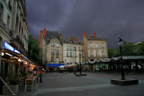 And at the end of the day the sky got angry over Nantes...