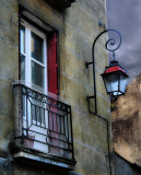 The window which shared secrets with a street-lamp
