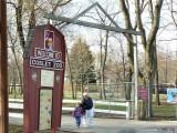 Gate to Cosley Zoo