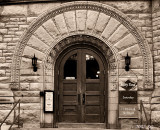 Adams Library Doors