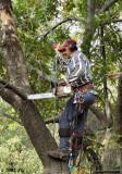 Aloft with a Chainsaw