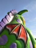 Looking over a Dragon Shoulder