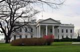 white house - north portico (1/2007)