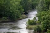 big walnut creek below hoover reservoir