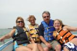 dana, jeanna, mike and amanda at south padre island