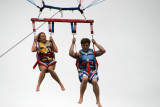 jeanna and zaine parasailing at south padre island