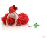 red petticoat with hat