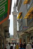 Trkey-Hatay-View Prayer Tower from Bazaar