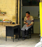 Turkey-Gaziantep-Tea Cigarette Break