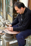 Turkey-Gaziantep-Bazaar-Copper Craftsman